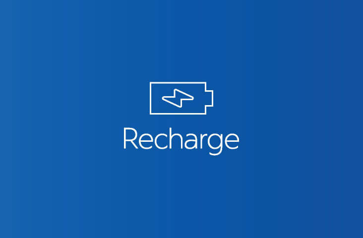 Blog recharge